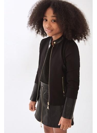 Patrizia Pepe Kız Çocuk Siyah Ceket Siyah